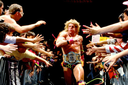 Ultimate Warrior reveals who's inducting...