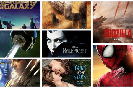 Top 5 Movies Of The Summer Of 2014!